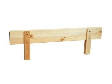 Universální zábrana na postel -borovice masiv přírodní- SKLADEM