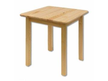 Dřevěný jídelní stůl borovice masiv ST108 60x75x60