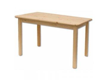 Dřevěný jídelní stůl borovice masiv ST104 100x75x70