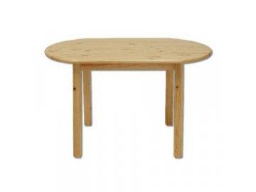Dřevěný jídelní stůl borovice masiv ST106 150x75x75