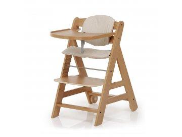 Dětská rostoucí židle Beta natur