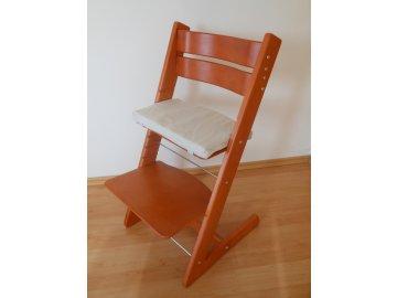 Dětská rostoucí židle, provedení třešeň