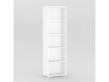 Regál REA STORE 60x28x200 bílý