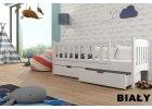 Detské postele so zábranou 70 x 160 cm