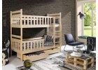 Poschodové postele 80 x 180 cm
