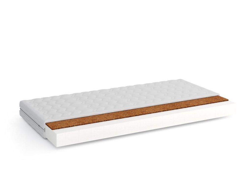 Pěnová matrace V-KOKOS - 90x190x9 cm - matrac vhodný pre prístelky