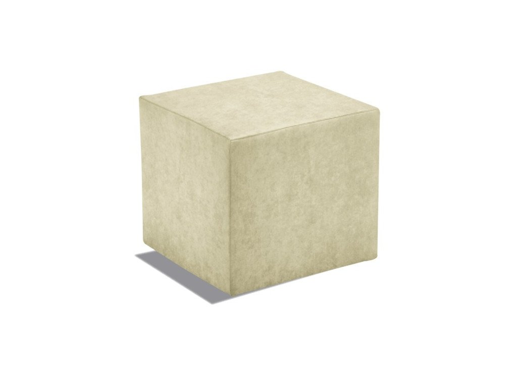 Taburet Cuby - béžový/nosnost 150 kg