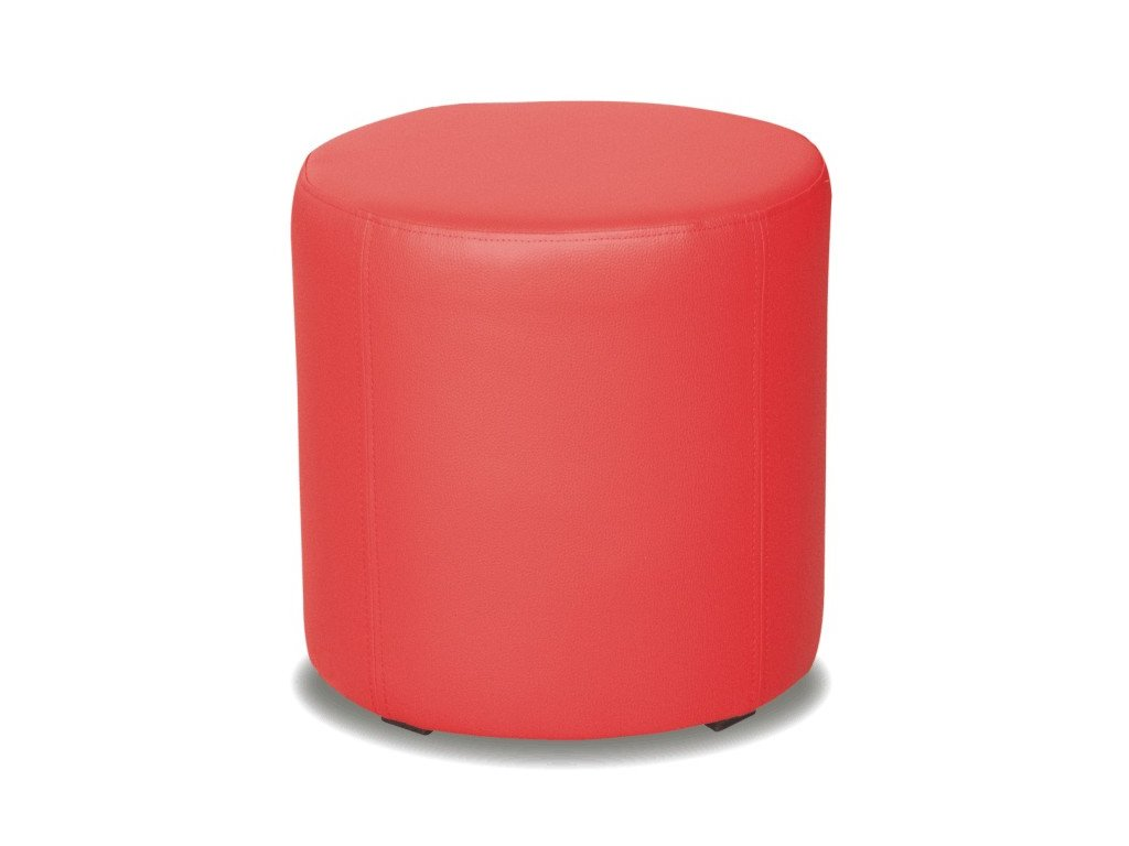 Taburet Top - červený/nosnost 100 kg