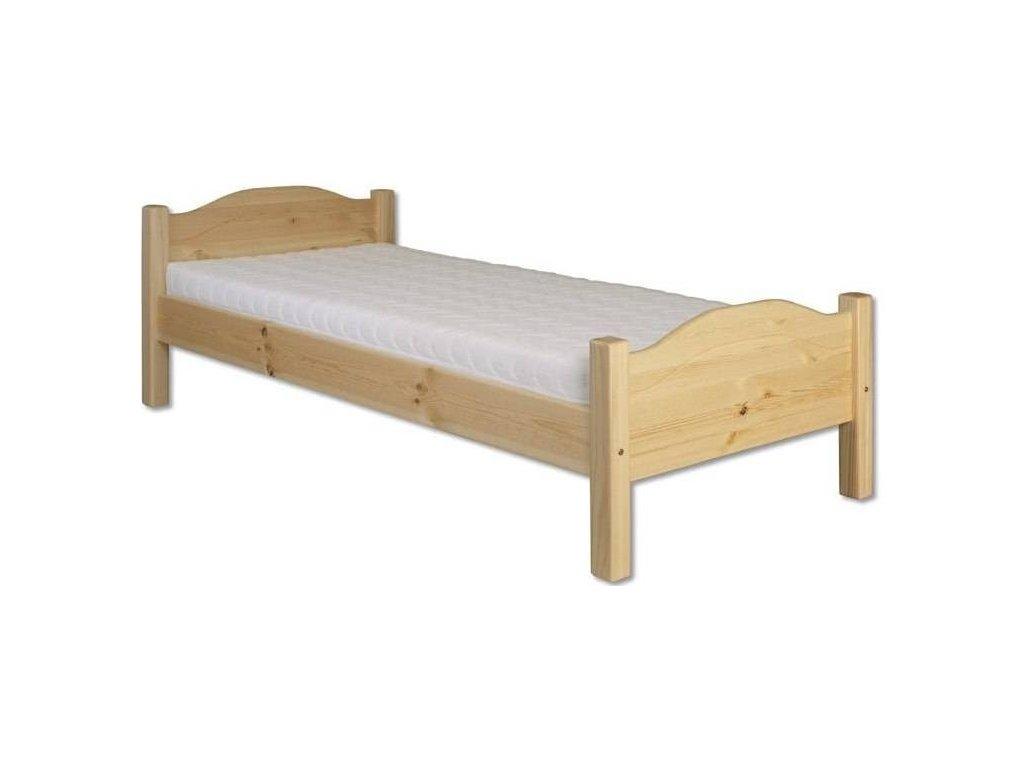 514f56ee16fd Masívna drevená posteľ H128 borovica masív 90x200 cm - Kiknabytok.eu