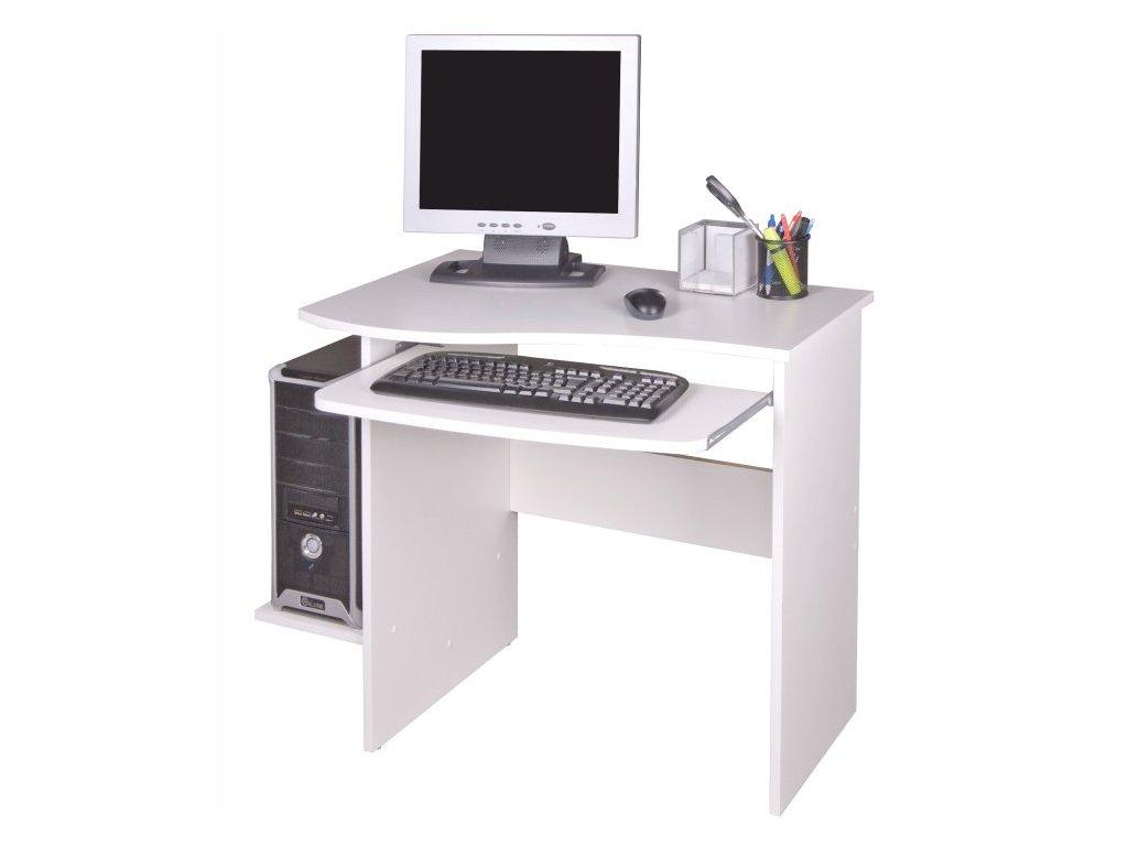 PC stôl Melichar biely