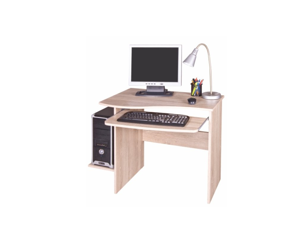PC stôl Verner odtieň slivka