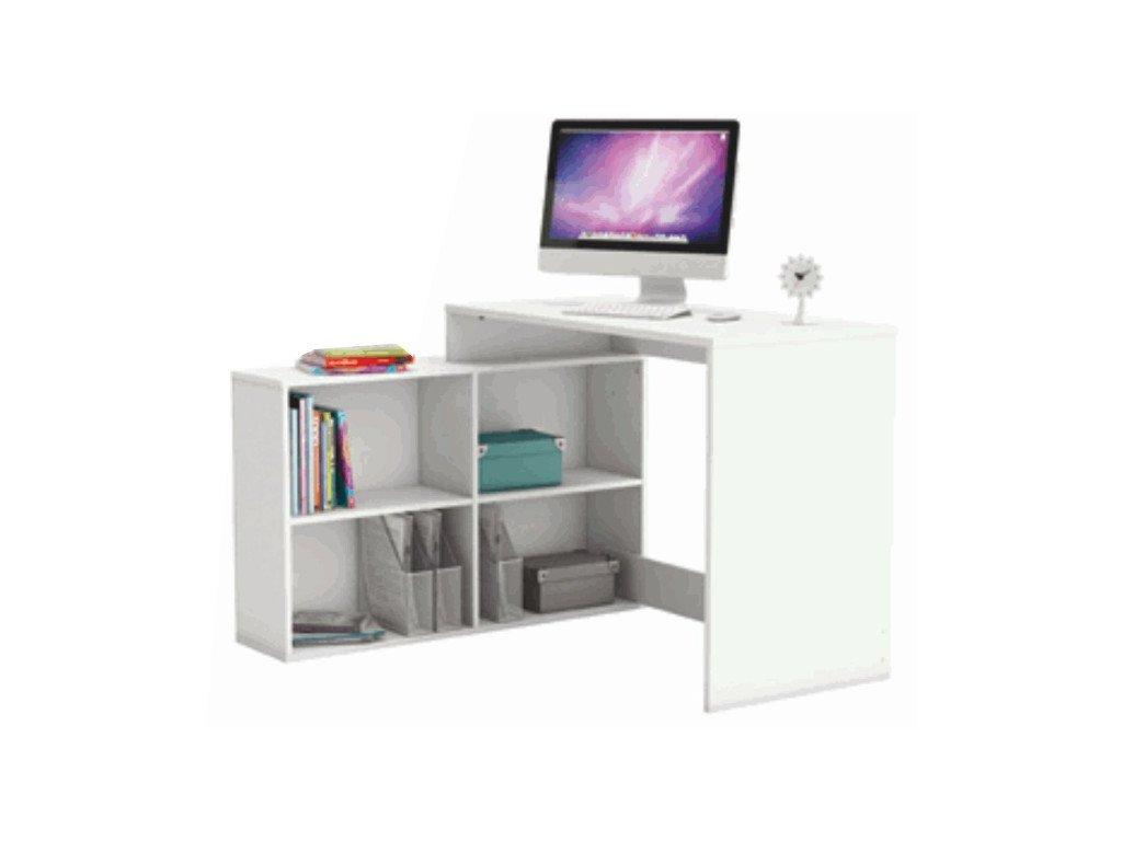 PC stôl multifunkčný Korner biely
