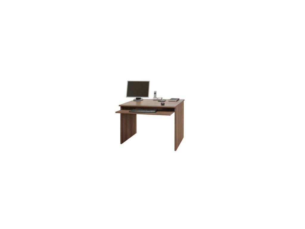 PC stôl s výsuvom na klávesnici Johan 02 -švestka
