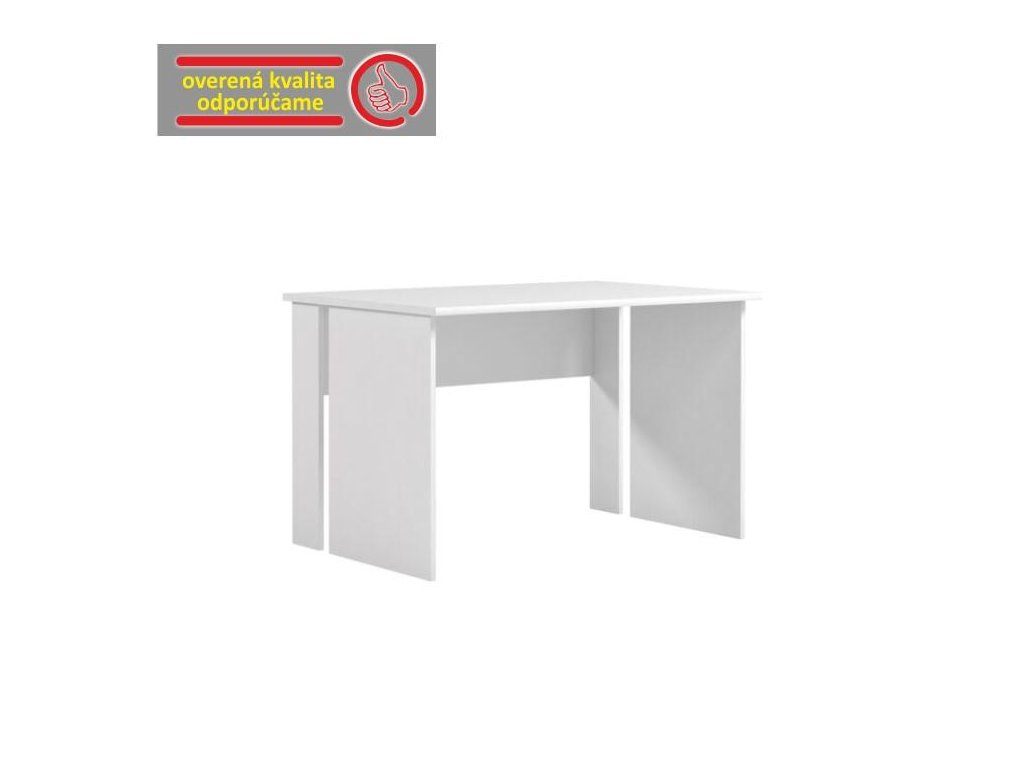 PC stôl, biela, BUK - 08
