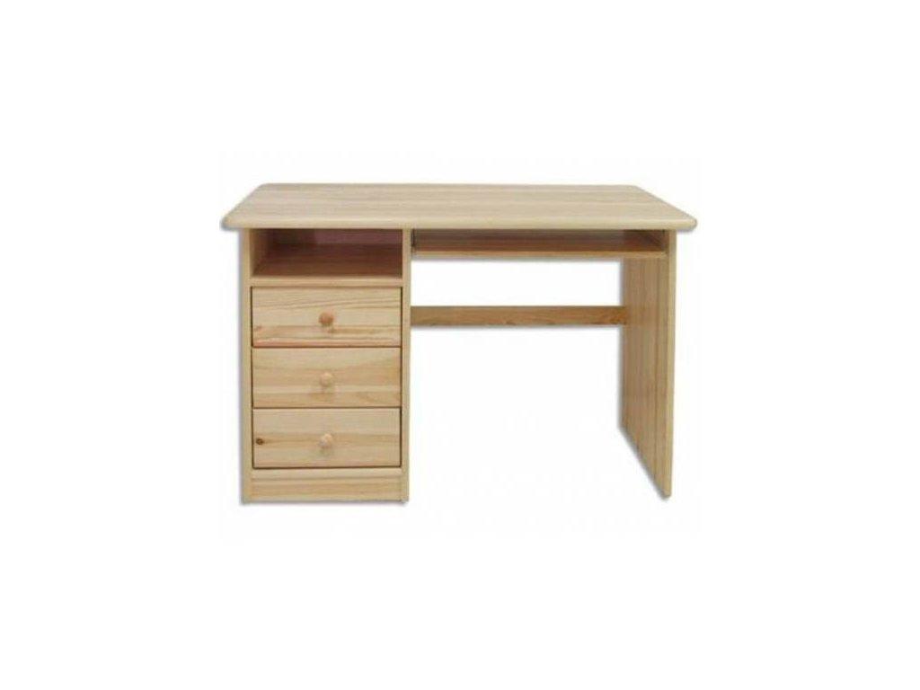 Drevený písací stôl BM103 borovica masív