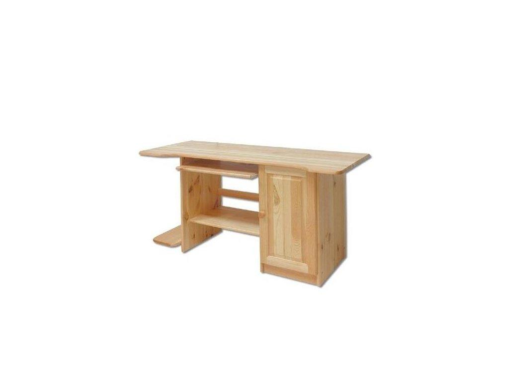 Drevený písací stôl BM111 borovica masív