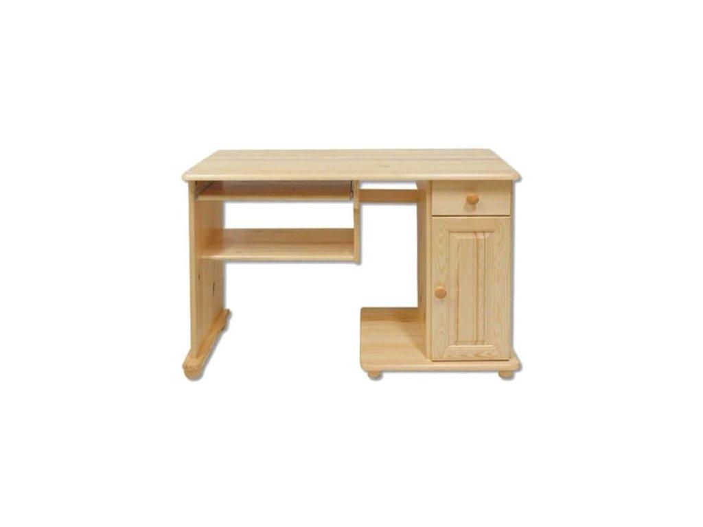 Drevený písací stôl BM114 borovica masív