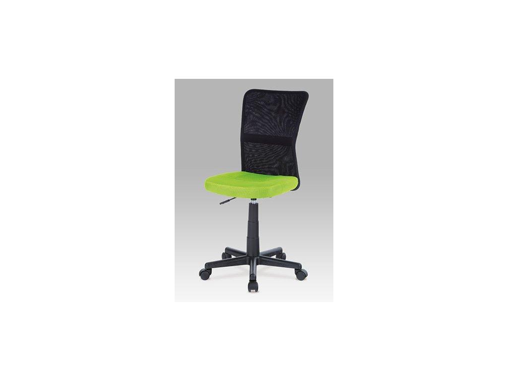 Kancelárska stolička KA-2325 GRN čierno zelené