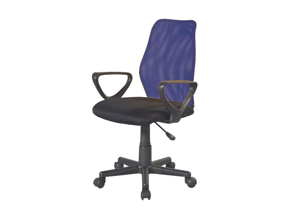 Kancelárska stolička BST 2010, modrá