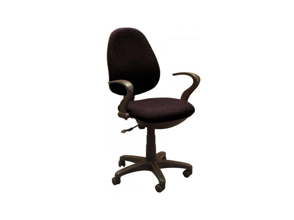 Kancelárska stolička STAR, čierna