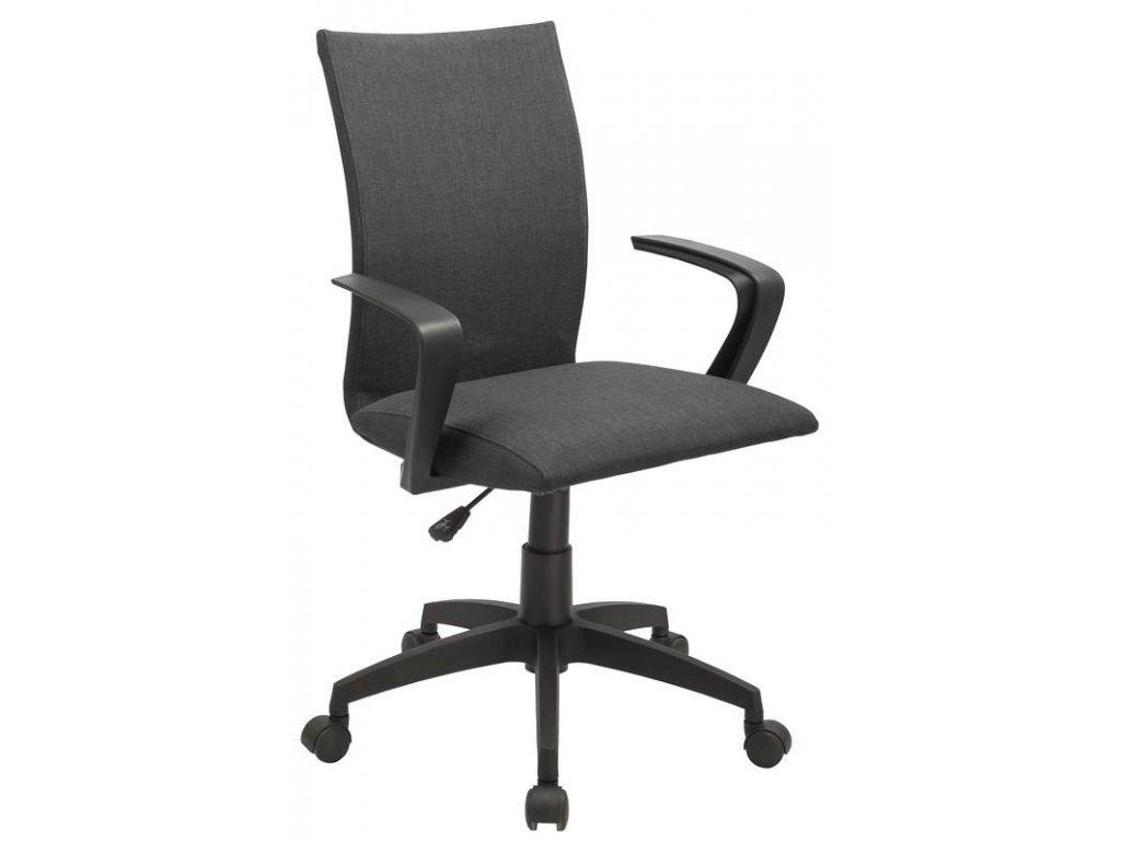 Kancelárska stolička TEDDY sivá s opierkami
