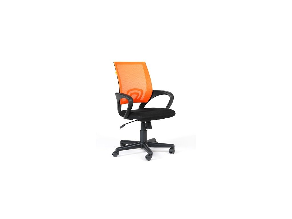 Kancelárska otočná stolička TREND, oranžová