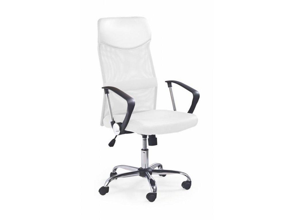Kancelárske kreslo VIRE s opierkami biely