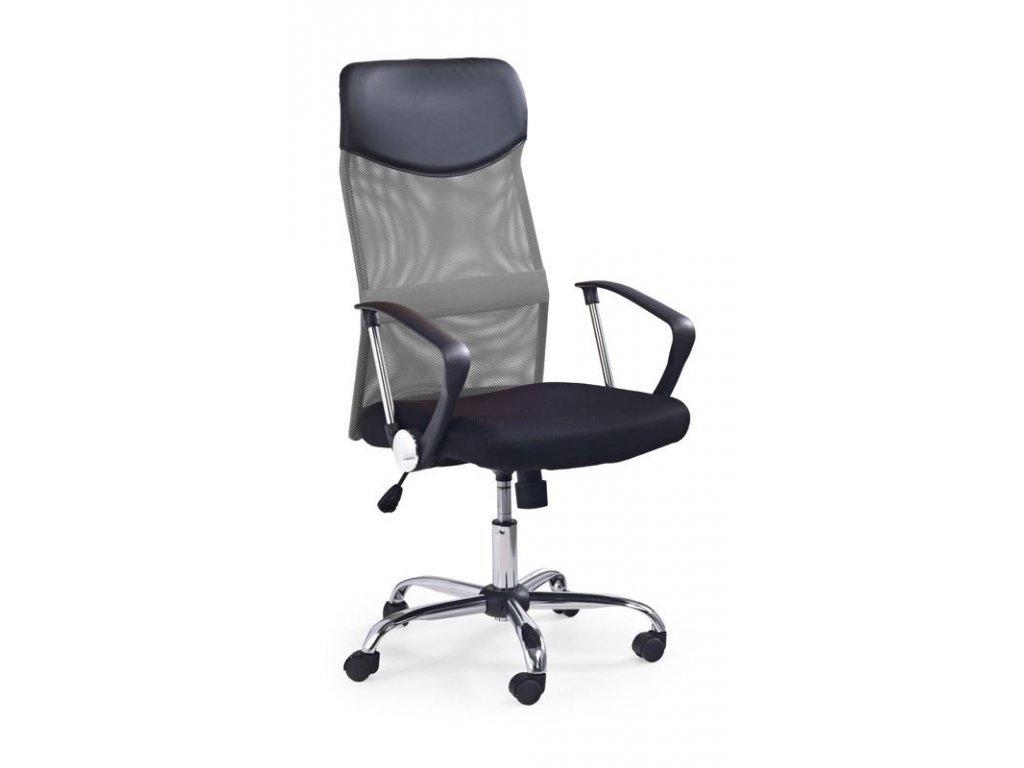 Kancelářské křeslo VIRE s područkami šedý