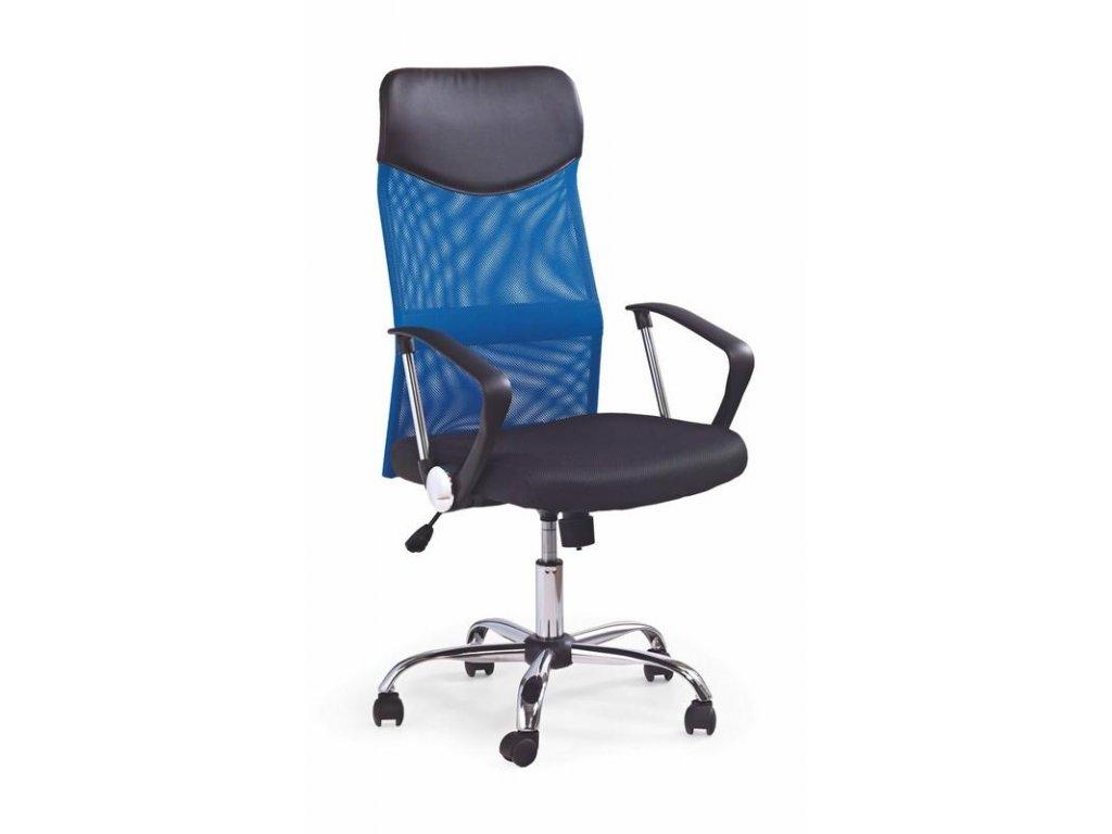 Kancelárske kreslo VIRE s opierkami, modro-čierne