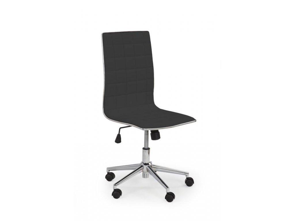 Kancelárska stolička TIROL-čierna