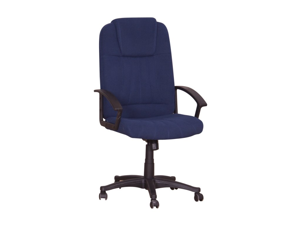 Kancelárske kreslo modréTC3-7741 s područkama