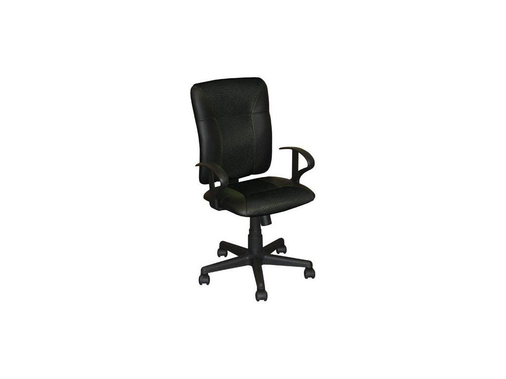 Kancelárska stolička KING, čierna SKLADOM