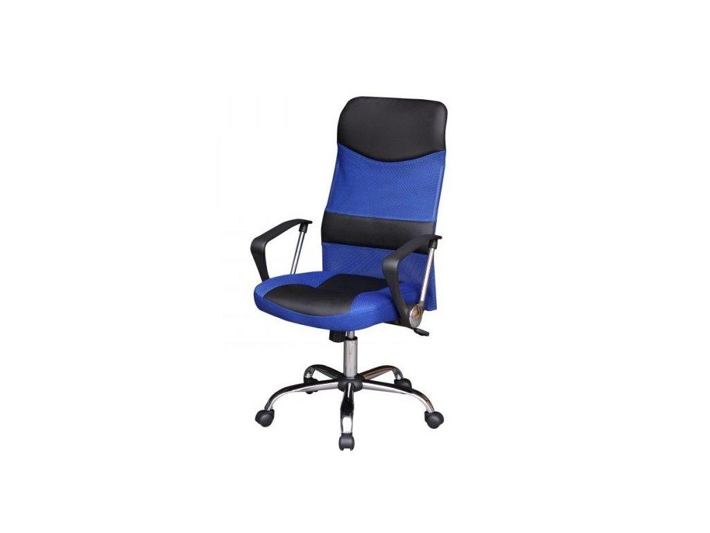 Kancelárske kreslo TC3-973M, modro-čierne