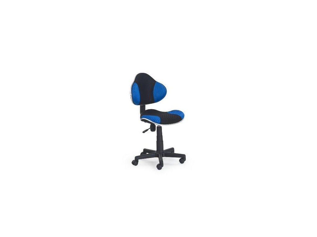 Kancelarská stolička Flesh modro-čierná