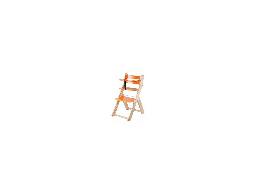 LUCA-L05 jedálenské / prírodné stoličky s ergonomickým sedením