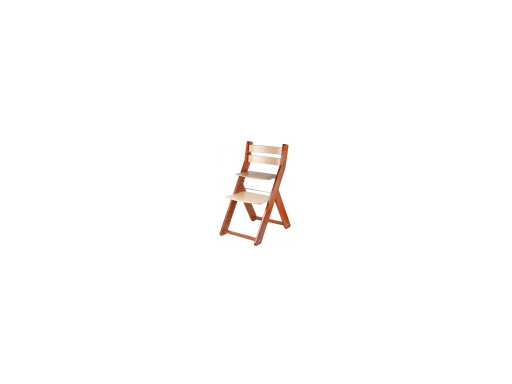 SANDY TREESE jedálenské stoličky 001 čerešňa / príroda s ergonomickým sedením
