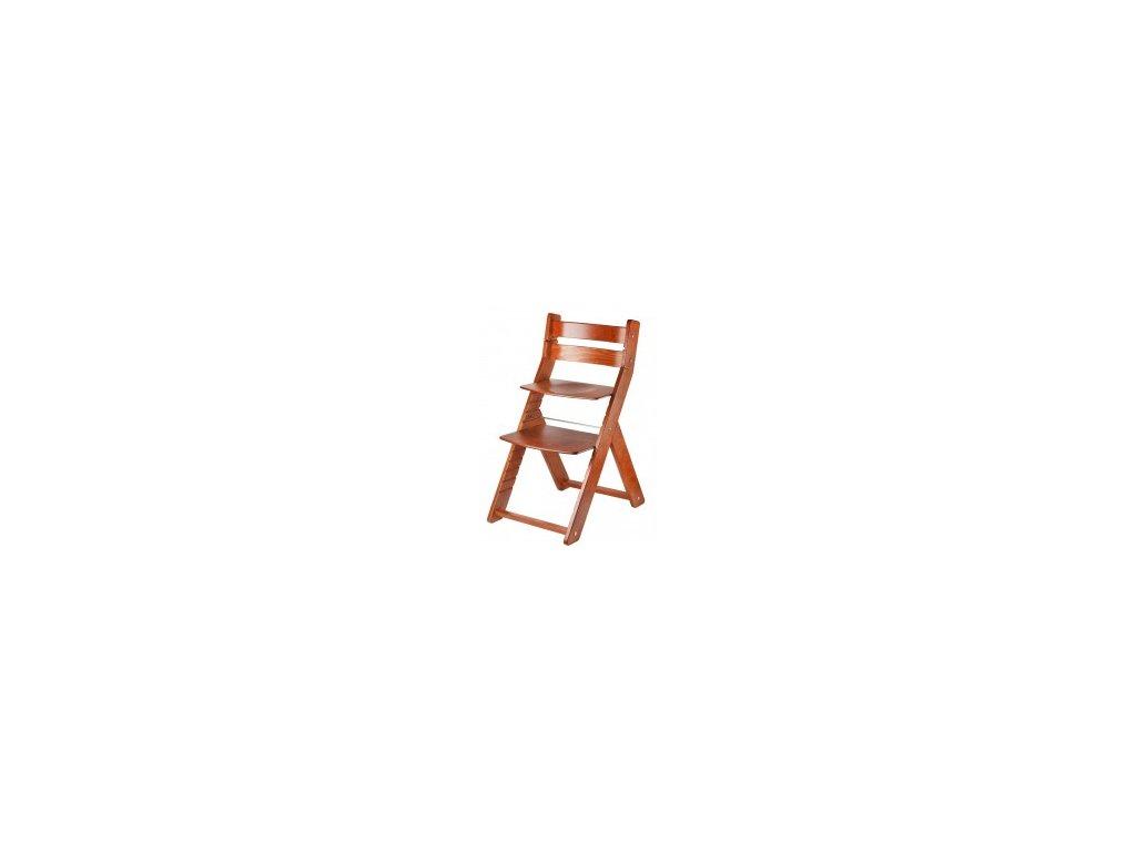Jedálenské stoličky SANDY CHRISTMAS 002 čerešňa / čerešňa s ergonomickým sedením