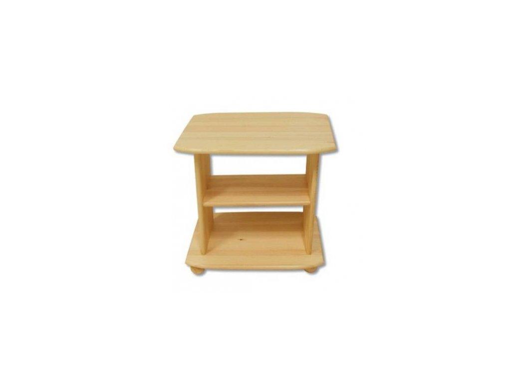 Drevený televízny stolík BM110 borovica masív