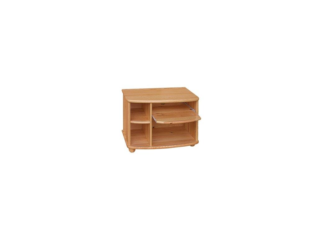 Drevený televízny stôl TV-J borovica masív