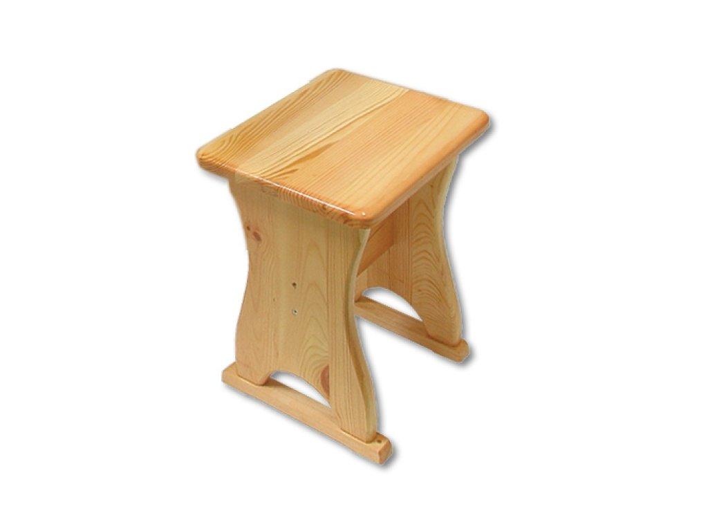 Jedálenská stolička BM113 borovica masív