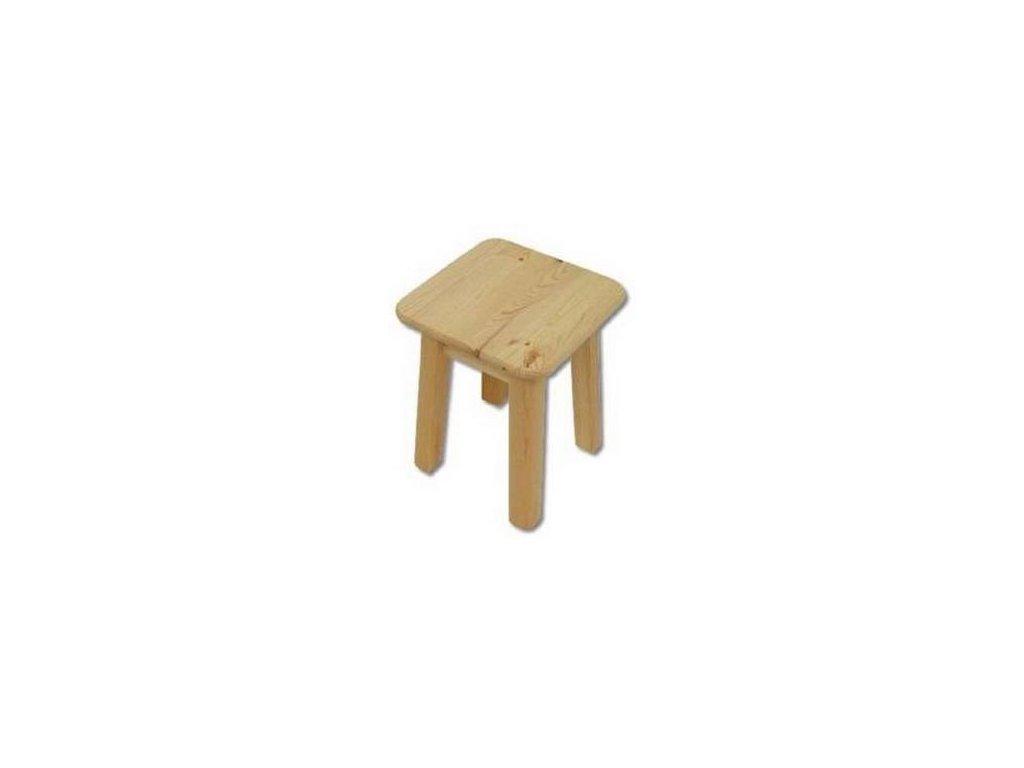 Drevená stolička BM252 borovica masív