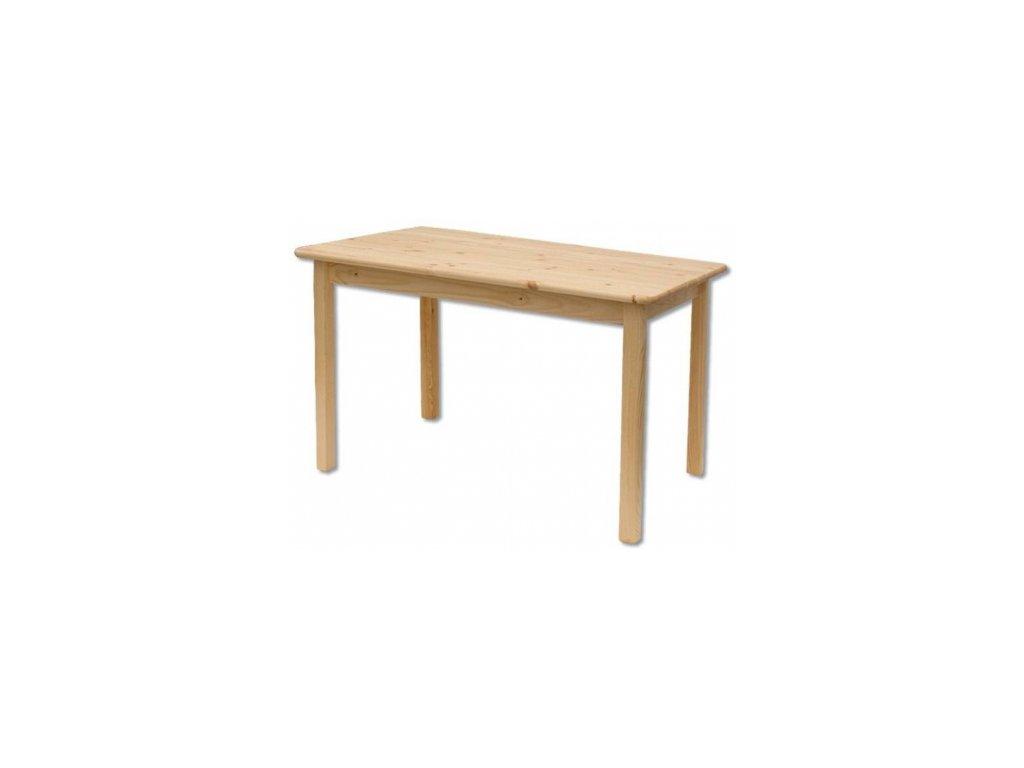 Drevený jedálenský stôl BM104 borovicové drevo 100x75x55