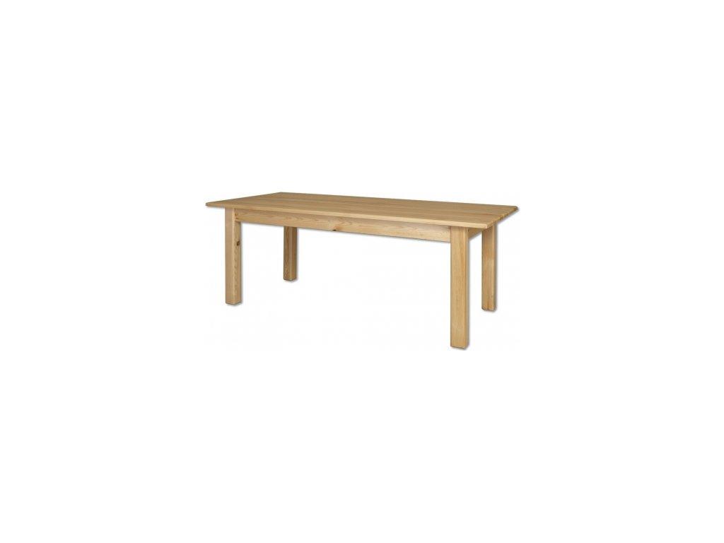 Drevený jedálenský stôl BM107 borovica masív