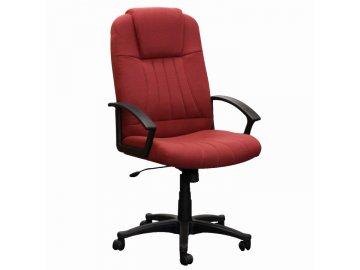 Kancelárske kreslo TC3-7741 s područkama bordó-červená