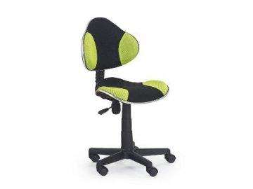 Kancelarská stolička Flesh zeleno-čierná