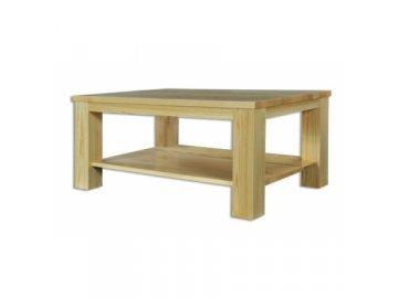 Drevený konferenčný stolík borovica masív BM117 - šírka 120cm