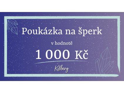 killary poukaz 1000