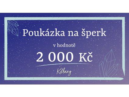 killary poukaz 2000