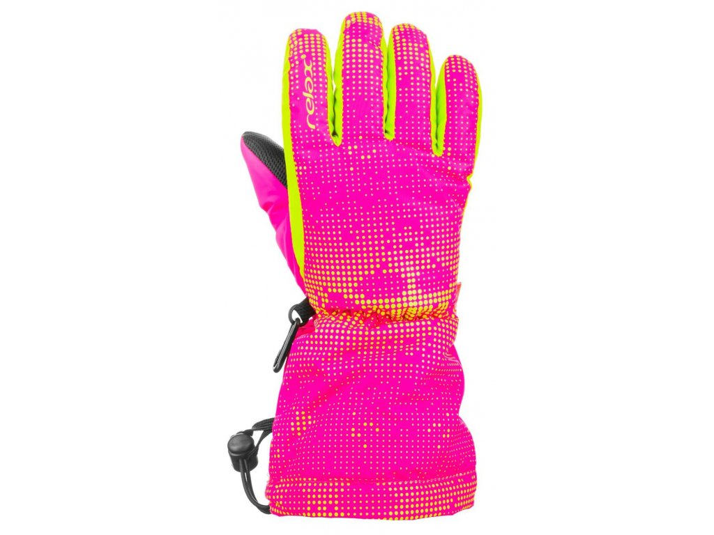 HANDSCHUHE RELAX PUZZY RR15E (Farbe pink, Größe 10Y)