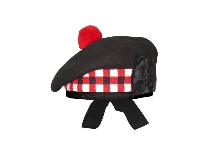 diced balmoral hat